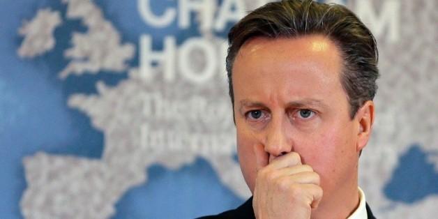 Le Premier ministre David Cameron le 10 novembre 2015 à Londres