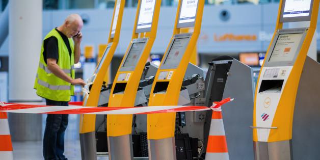 Der Streik trifft die Lufthansa hart.