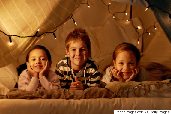 indoor camping children
