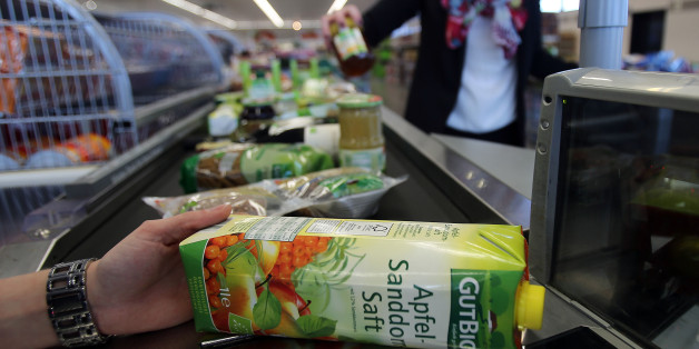 Bio-Lebensmittel im Supermarkt