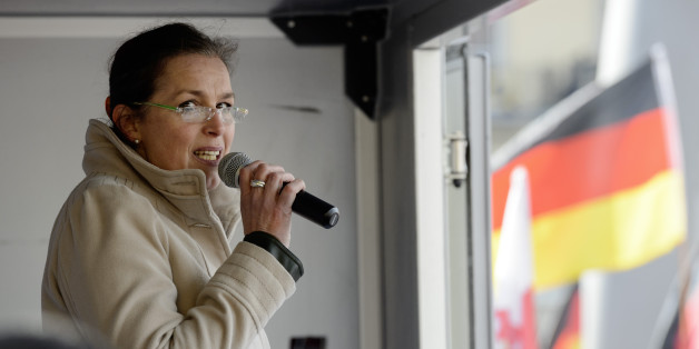 Die Pegida-Frontfrau Tatjana Festerling