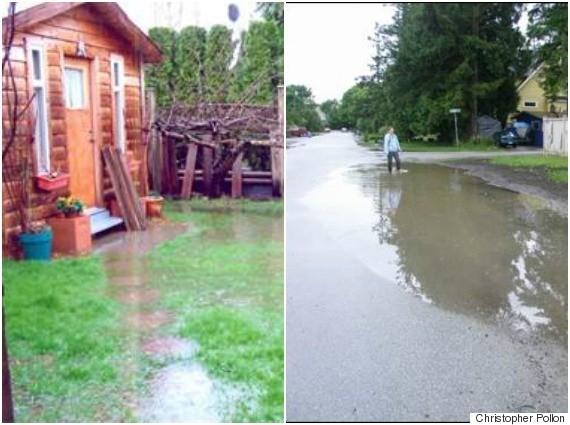 crescent beach flooding bc
