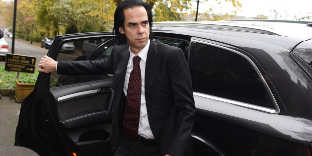 BRIGHTON, ENGLAND - NOVEMBER 10:  Musician Nick Cave attends the inquest into his son's death at Brighton Coroner's Court on November 10, 2015 in Brighton, England.  Arthur Cave aged 15, fell to his death from a cliff near Brighton, East Sussex in July after consuming a  hallucinogenic drug LSD.  (Photo by Tabatha Fireman/Getty Images)