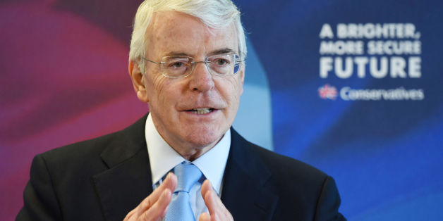 "File photo dated 21/4/2015 of Sir John Major who has said that successful businesses and wealthy individuals should make a bigger contribution to ending ""shocking"" levels of poverty and inequality in Britain."