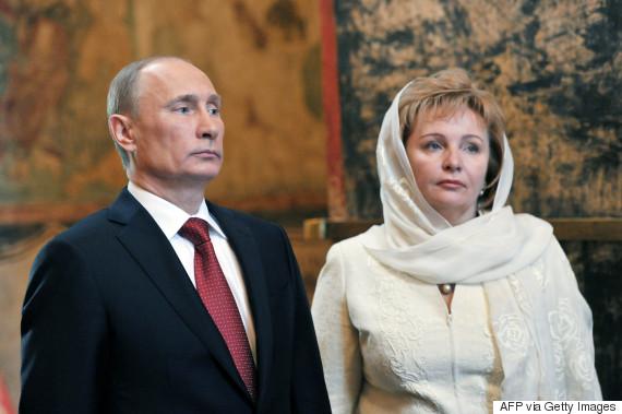 vladimir putin and lyudmila
