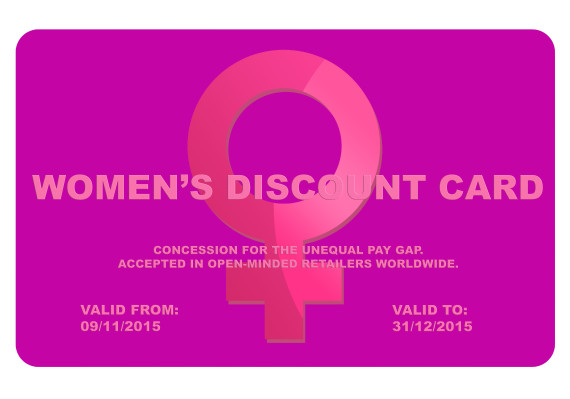 women discount card
