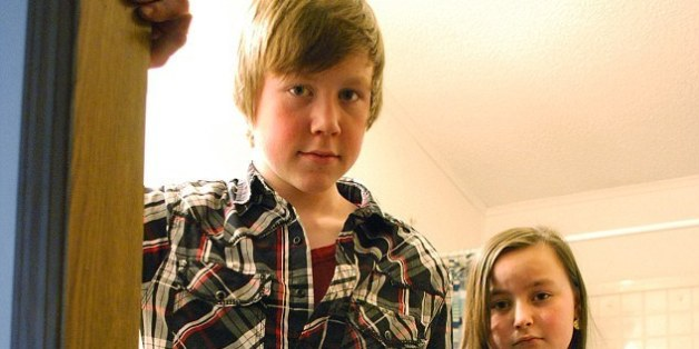 Der 14-jährige James Persyn hat eine sehr mutige Entscheidung getroffen