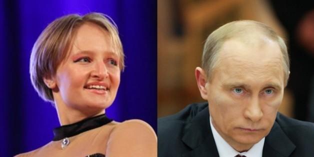 블라디미르 푸틴 러시아 대통령의 둘째 딸로 알려진 예카테리나 티호노프의 모습 & 푸틴 대통령