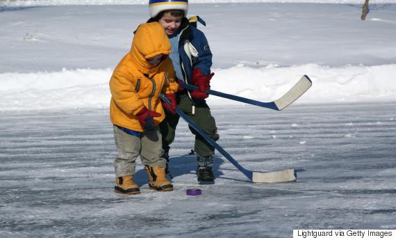 outdoor ice rink alberta