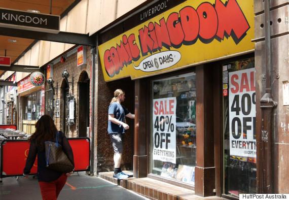 sydneys comic kingdom