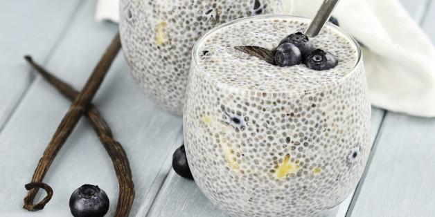 Chia-Samen sind ein Superfood - sie sind gesund und schmecken auch in Puddings sehr gut