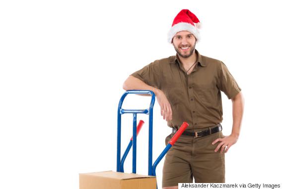 christmas mailman