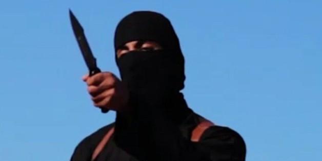 """Capture d'écran d'une video de SITE en date du 13 septembre 2014 montrant Mohammed Emwazi alias """"Jihadi John"""" bourreau du groupe jihadiste Etat islamique (EI)"""