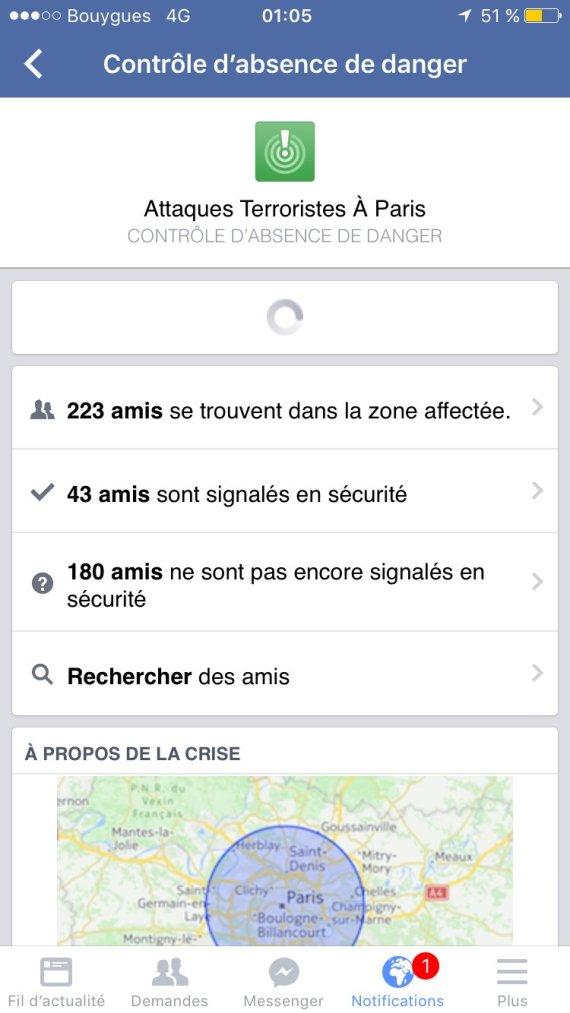 facebook controle