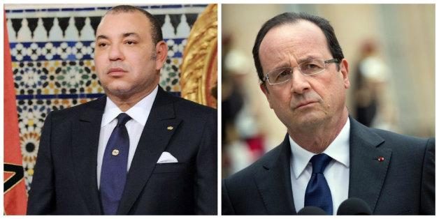 Attentats de Paris: Mohammed VI s'est entretenu avec François Hollande