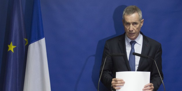 PARIS, FRANCE - NOVEMBER 11: Paris prosecutor Francois Molins delivers a statement on November 14, 2015 at Palais de Justice in Paris, a day after a series of coordinated attacks in and around Paris. (Photo by Geoffroy Van der Hasselt/Anadolu Agency/Getty Images)