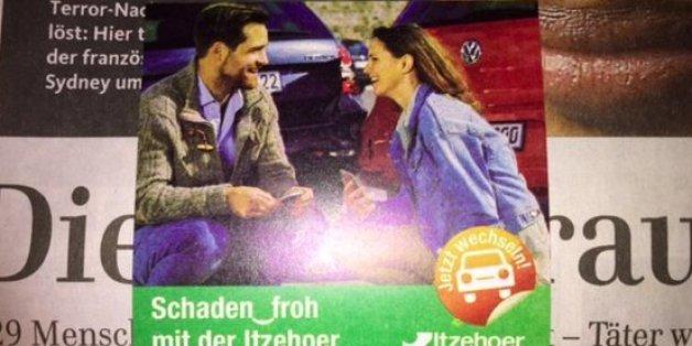 Titelseite der Lübecker Nachrichten