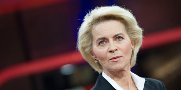 """Verteidigungsministerin Ursula von der Leyen bei """"Günther Jauch"""""""