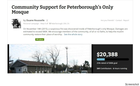 peterborough mosque fire