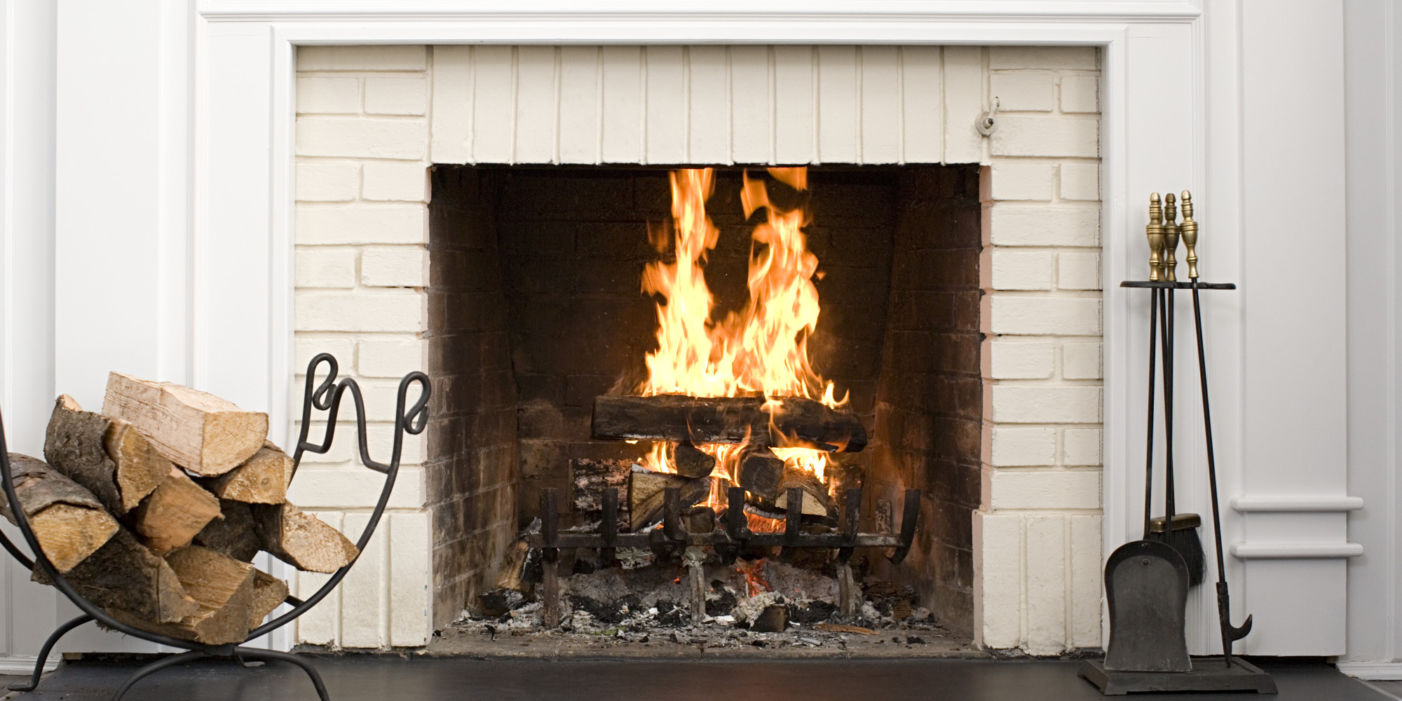 how to prepare your fireplace for cold weather huffpost