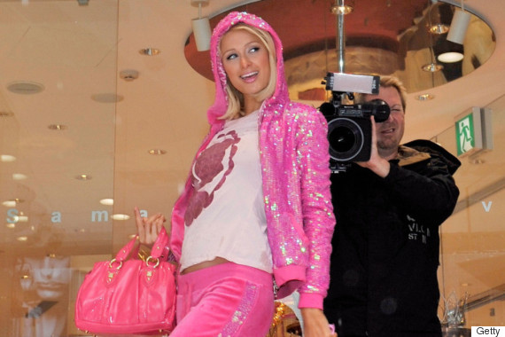 paris hilton juicy couture