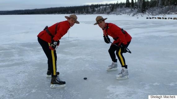 mounties hockey