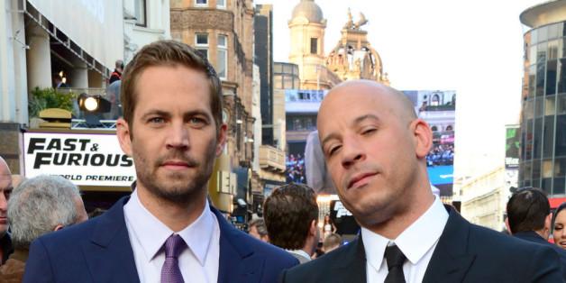 Sie waren Freunde und Kollegen: Paul Walker (li.) und Vin Diesel.