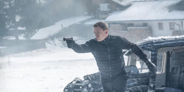 "Daniel Craig in seinem neuen Film ""Spectre""."