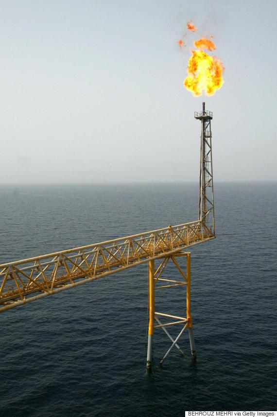 saudi arabia oil platform