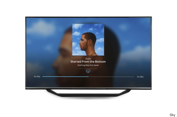 sky q airplay