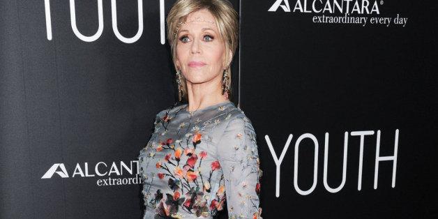 Ihre 77 Jahre sieht man Jane Fonda nicht an