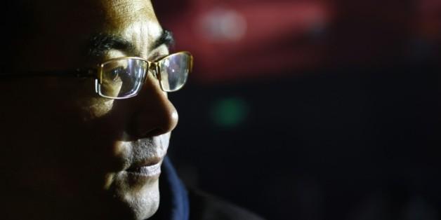 Le réalisateur tibétain Pema Tseden le 12 novembre 2015 à Pékin