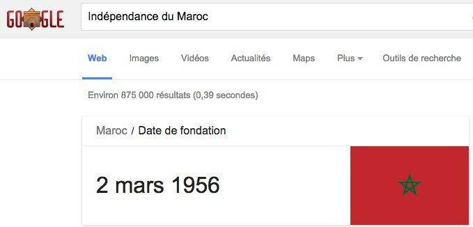 indépendance google