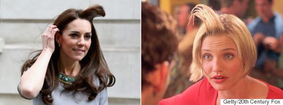 duchess of cambridge kate middleton cum hair