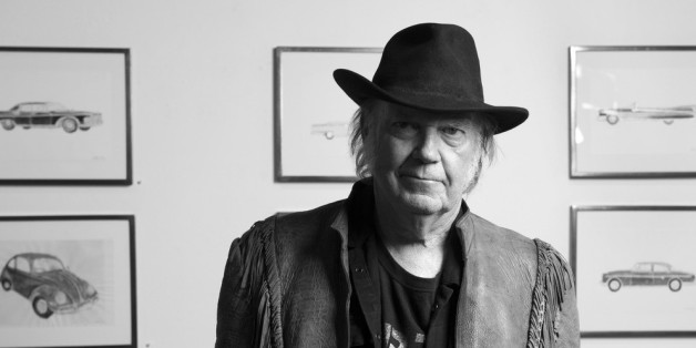 Neil Youngs Auto ließ den Star im Stich.