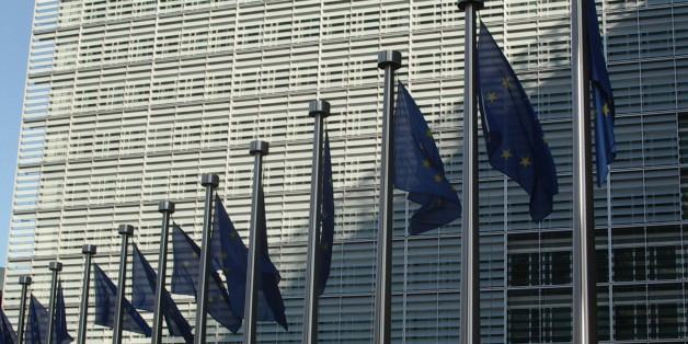 Berlaymont building, Brussels, Belgium, headquarter of the European Commission