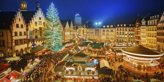 Der Frankfurter Weihnachtsmarkt zählt zu den beliebtesten Märkten in Deutschland. Dieses Jahr haben viele Besucher Angst vor einem Terror-Anschlag.