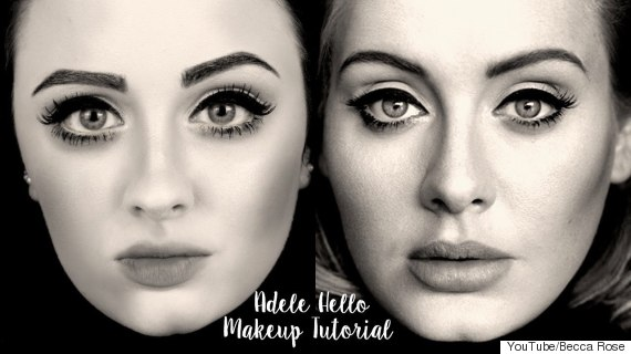 adele makeup tutorial