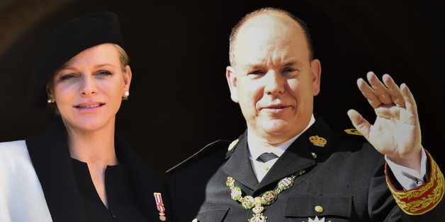 Das Fürstenpaar von Monaco: Charlène und Albert II.