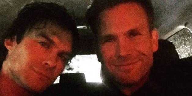Ian Somerhalder und Kollege Matthew Davis