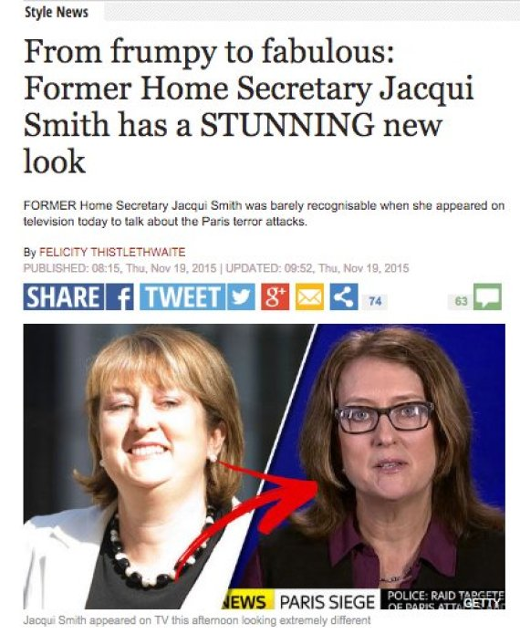 jacqui smith daily express 1