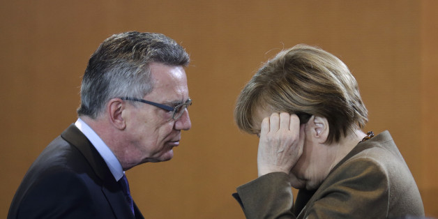 "Innenminister Thomas de Maizière im ""ZDF spezial"""