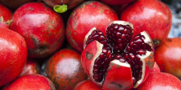 Der Granatapfel gilt als Superfood.
