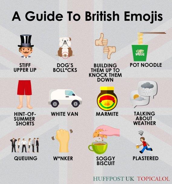 british emojis
