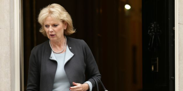 Minister for Small Business Anna Soubry leaves after a Cabinet meeting at 10 Downing Street, London, before Chancellor George Osborne delivers his first Tory-only Budget.