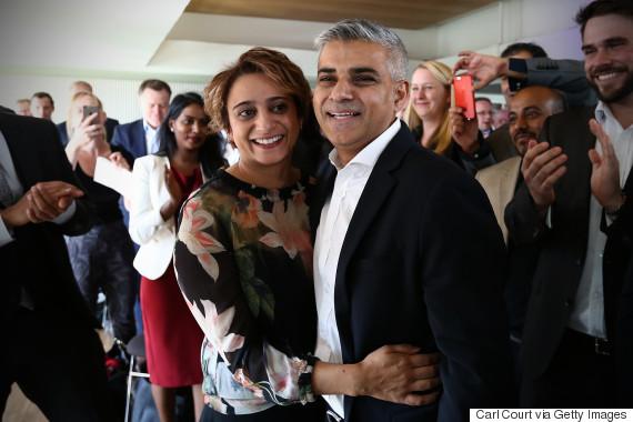 sadiq khan wife