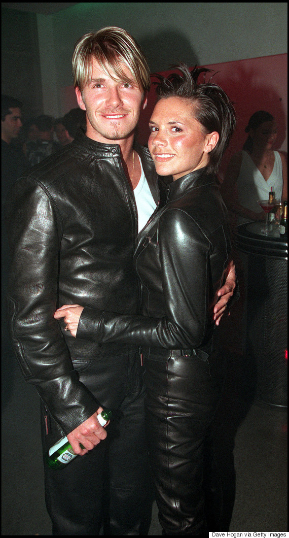 victoria david beckham versace 1999