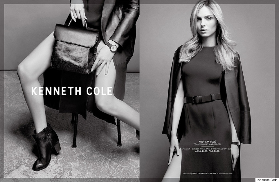 andreja pejic kenneth cole