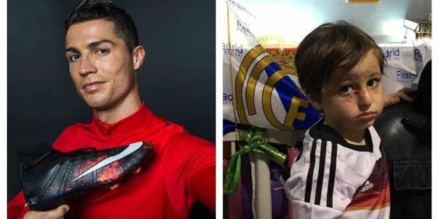 Cristiano Ronaldo réalise le rêve d'un orphelin libanais