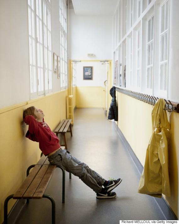 school punished